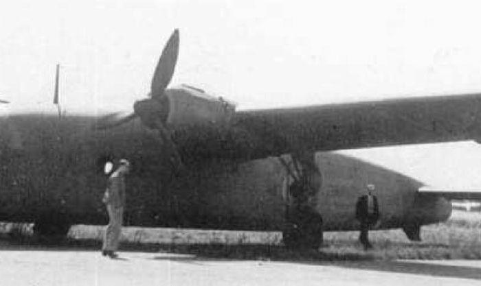 Un ala de incidencia variable para elBV-144