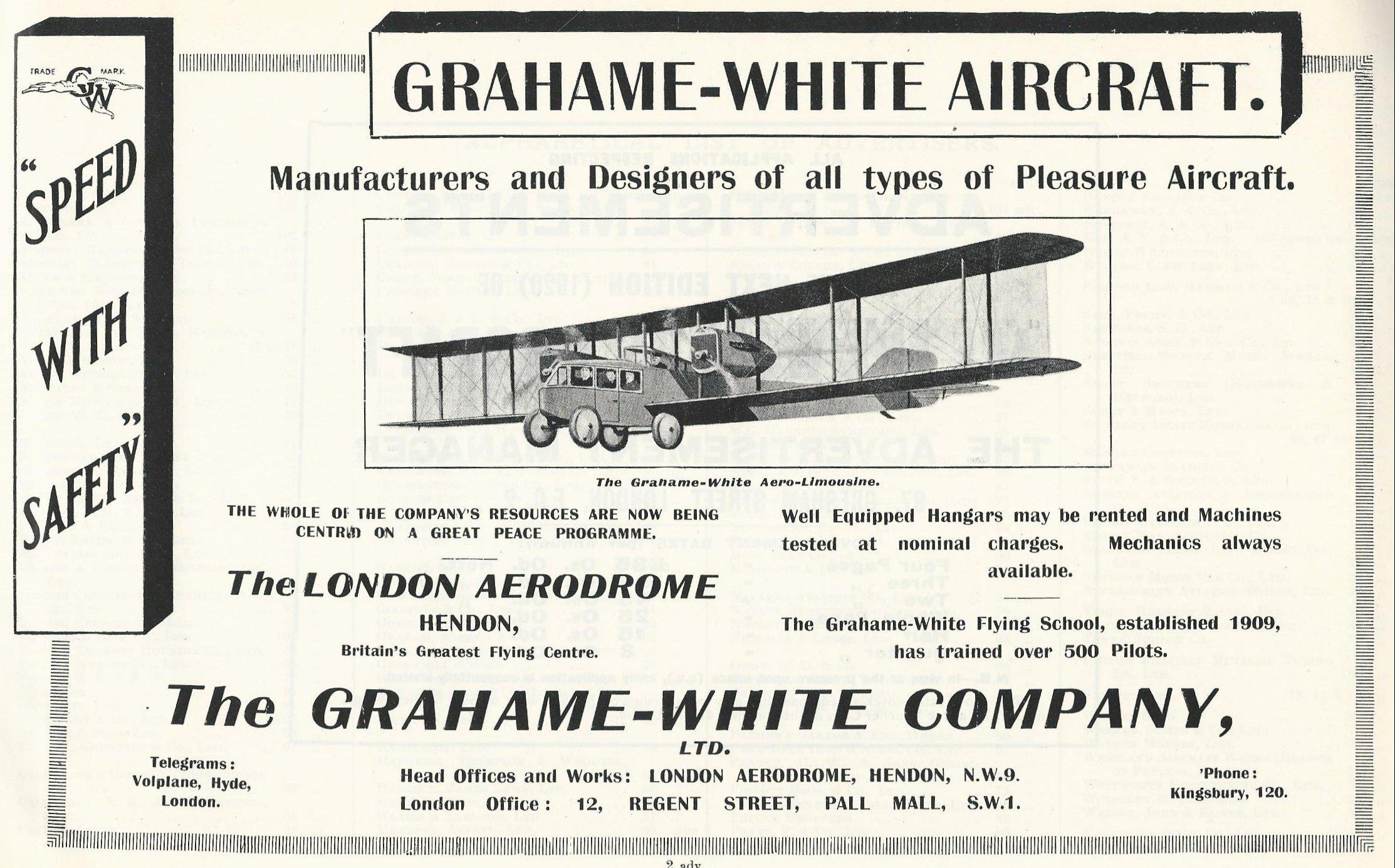 Grahame White limousine