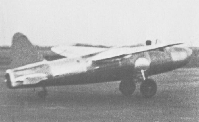Heinkel-178, primer vuelo de unreactor