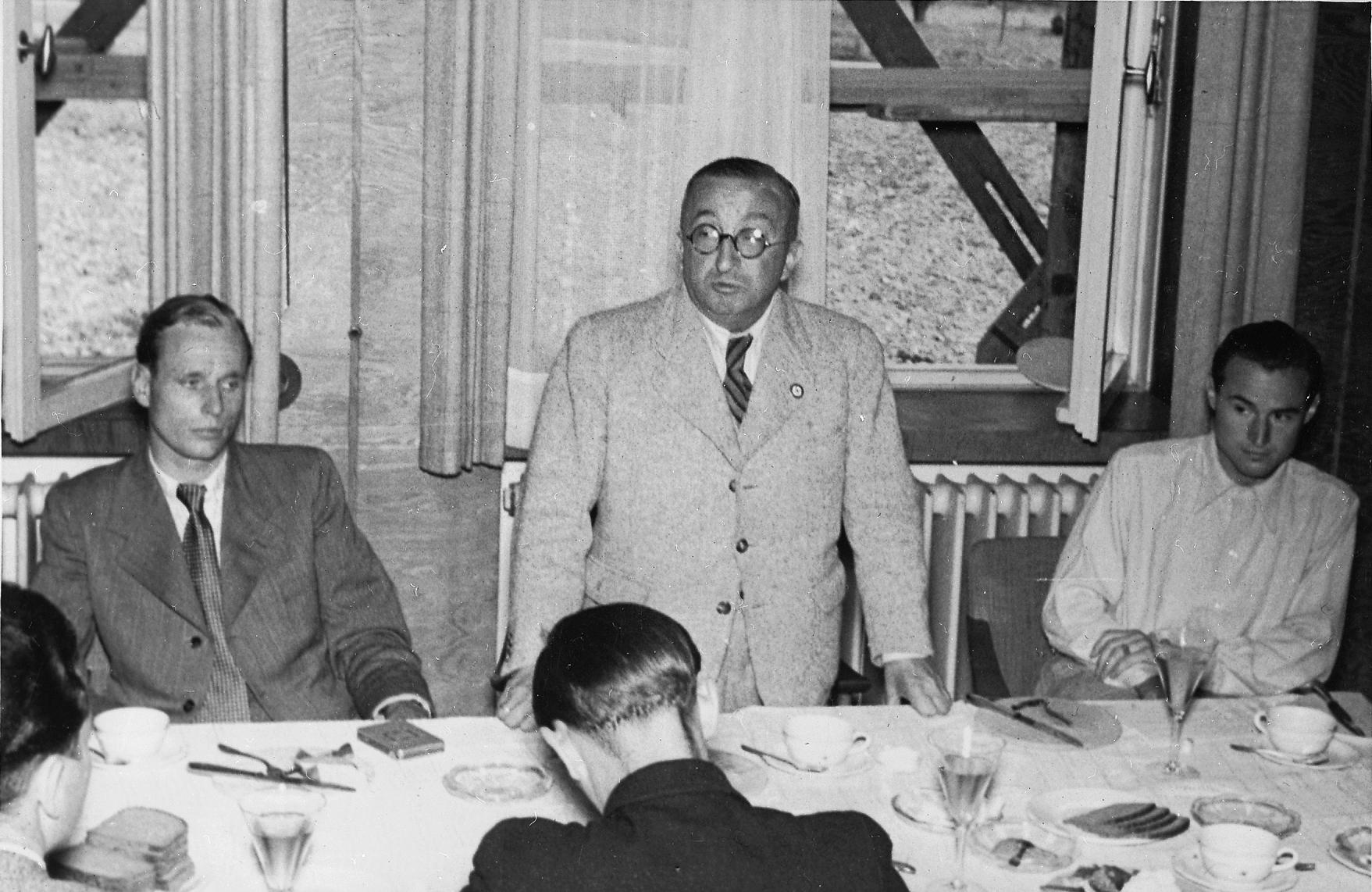 Heinkel, Ernst Heinrich; von Ohain, Hans (Doctor); Warsitz, Erich