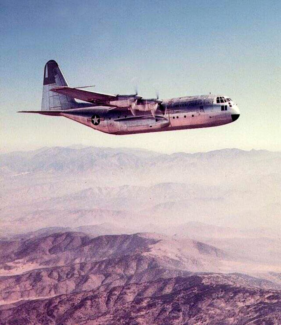 Lockheed YC-130A Roman Nose