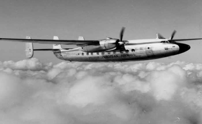 Airspeed Ambassador, primer avión del ComitéBrabazon