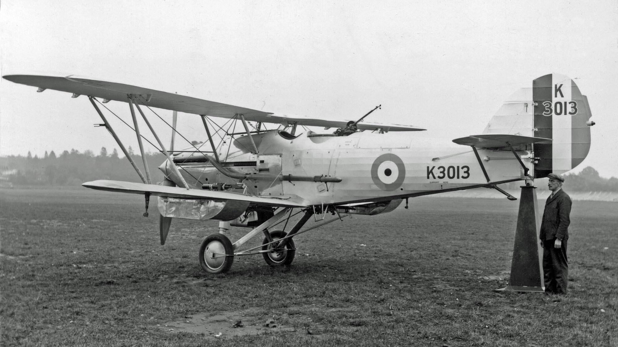 Hawker Hardy K3013 @ Brooklands