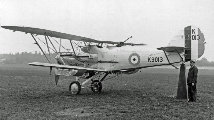 Hawker Hardy K3013 @ Brooklands