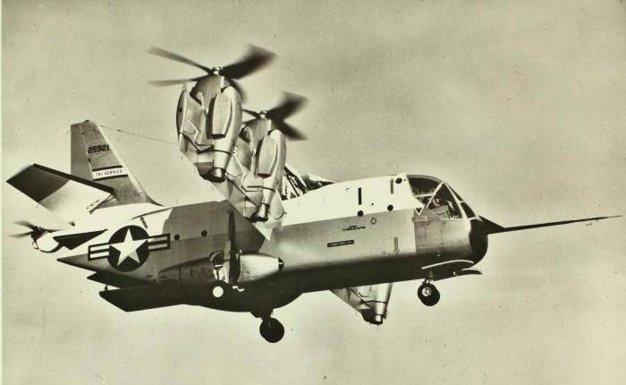 XC-142, un VTOL para cargas de hasta 4Toneladas