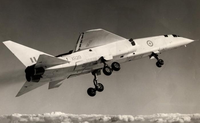 BAC TSR-2, el canto de cisne de la industriabritánica