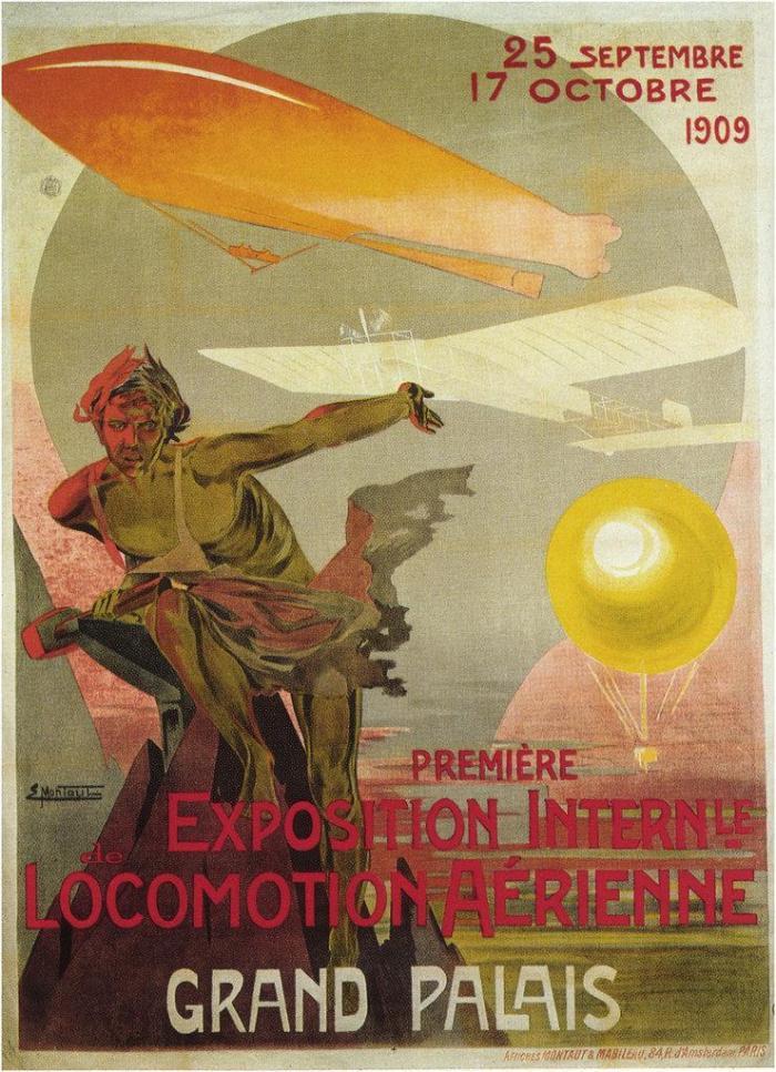 Affiche salon 1909