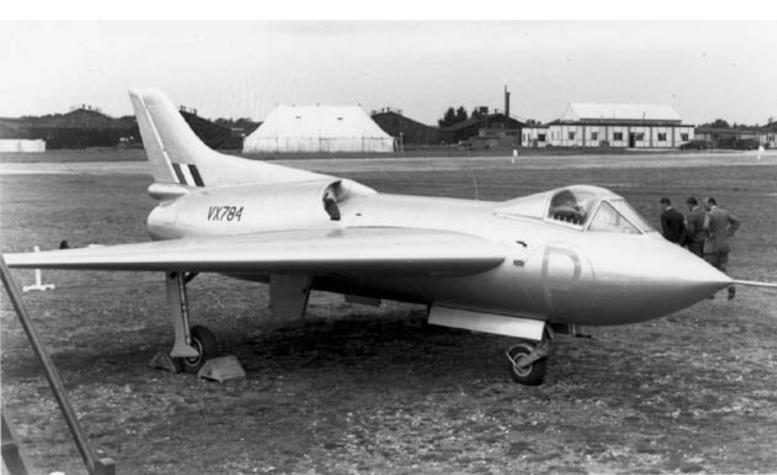 avro-707 VX 784