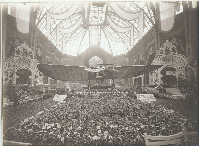 Bleriot en el salon 1909