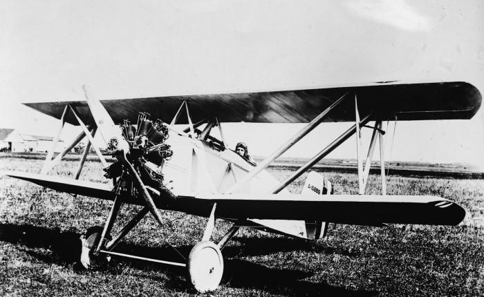 El primer caza Curtiss para lamarina