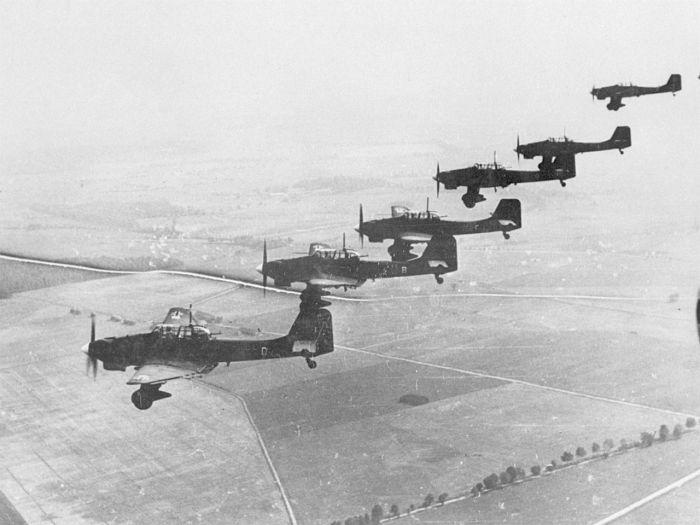 Ju 87 Bs over Poland, September October 1939