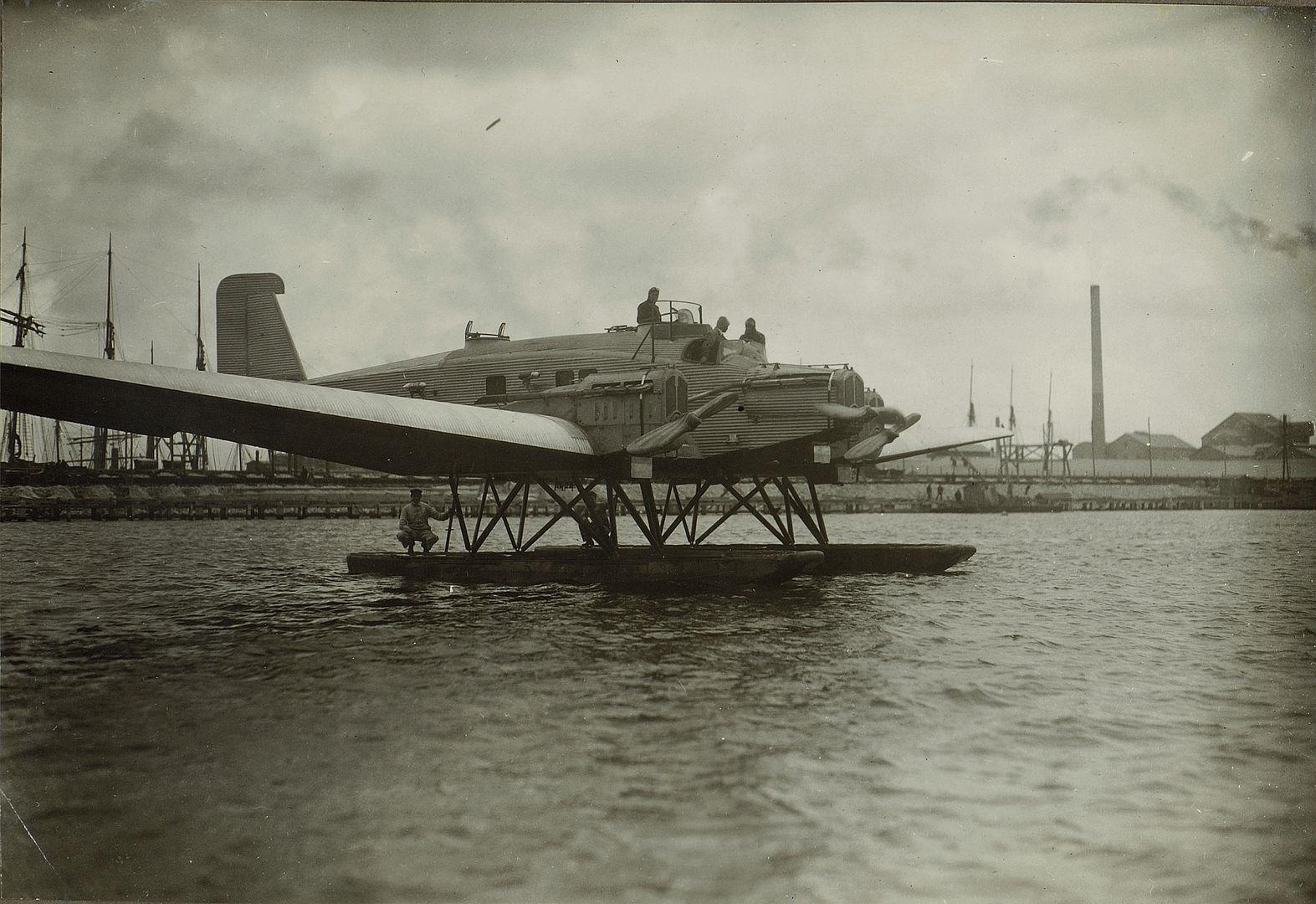 Junkers K 30 R42 ab 1926-27 im Betrieb. 23 von total 30 K 30 unter der Typenversion R 42 an die UdSSR-1