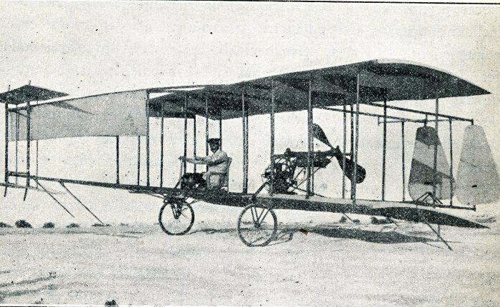111 años del primer vuelo con motor enEspaña