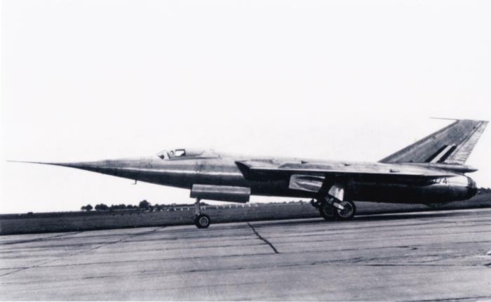 Fairey Delta II, investigaciónsupersónica
