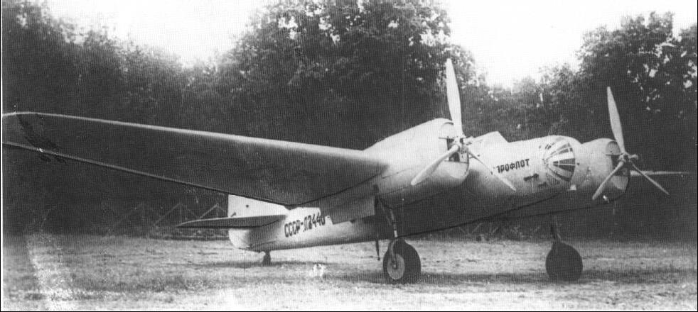 Aeroflot_Tupolev_ANT-40_SSSR-L2440