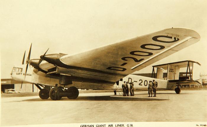 Junkers G38, el avión más grande del mundo en1929
