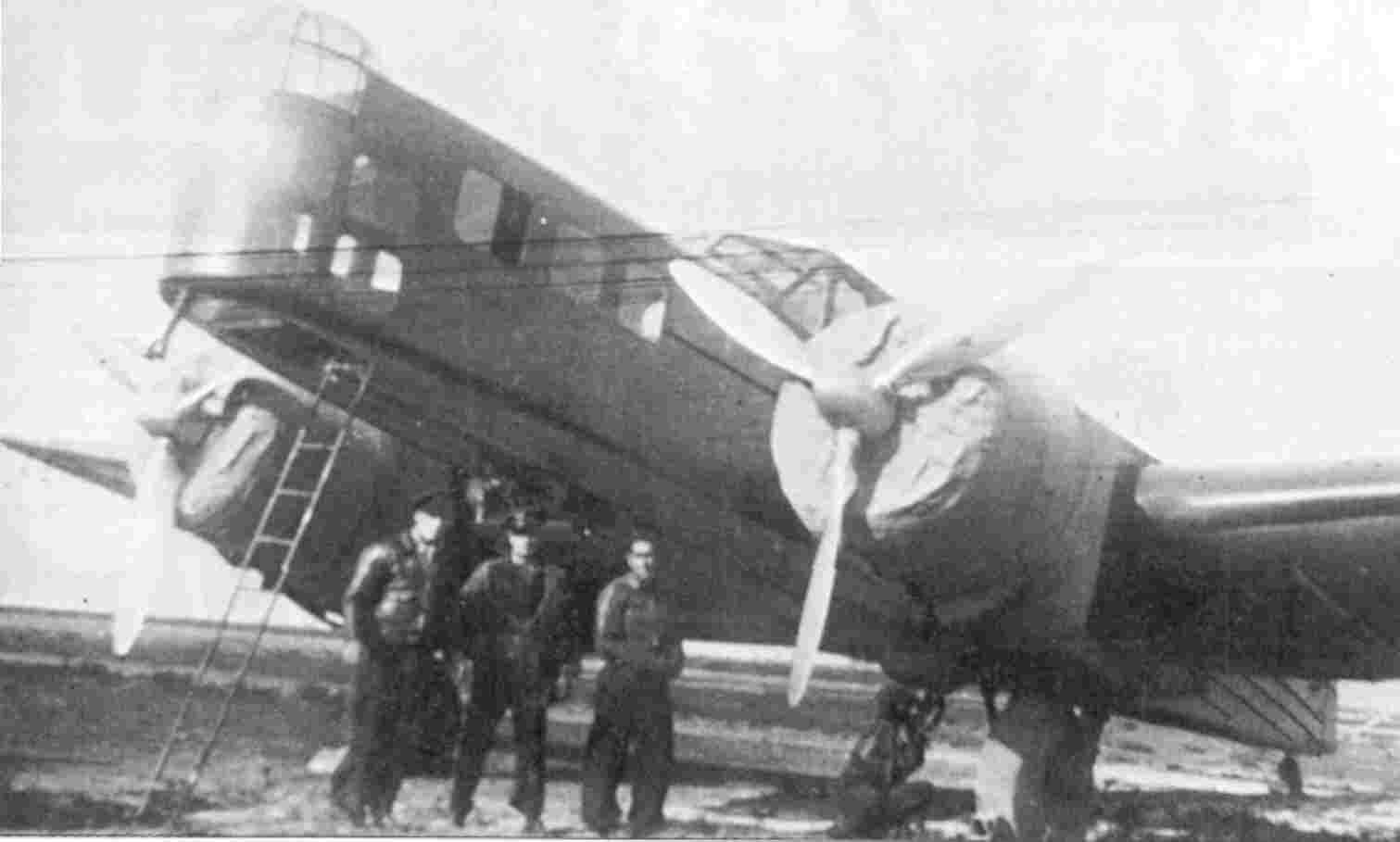 Bloch MB-210 001 Spanish Civil War