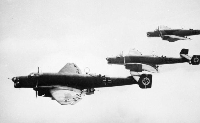 Junkers 86, un bombardero con motoresdiésel