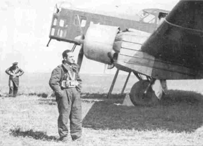 Marcel Bloch MB-210 003 in Spain