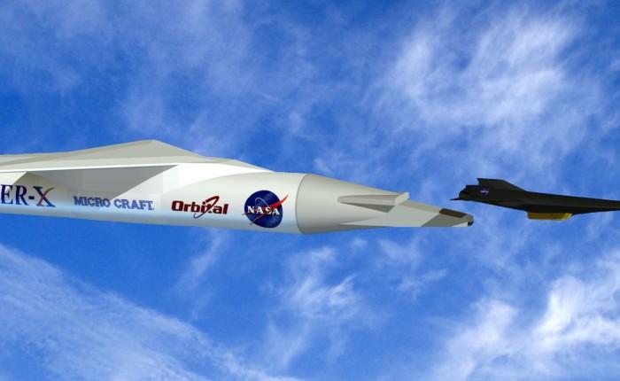 El X-43A alcanza Mach9,6
