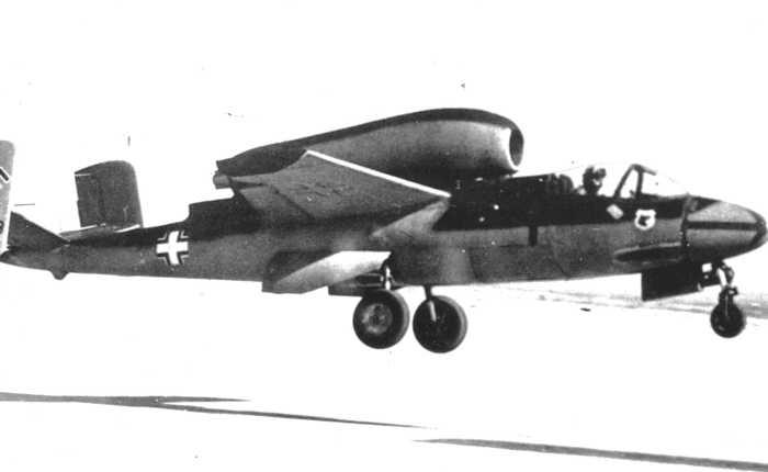 Heinkel 162, producto de ladesesperación