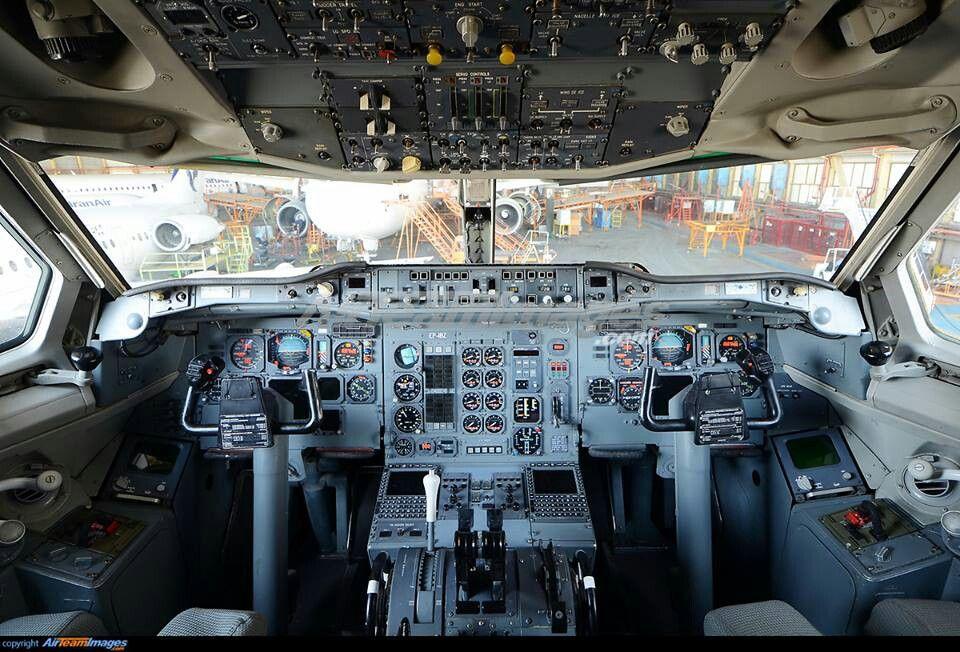 A300 analogic cockpit