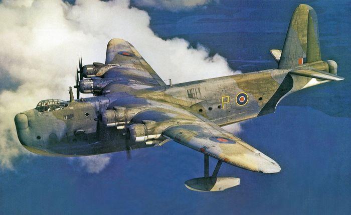 Short Shetland, el mayor avión británico de laguerra