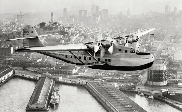 Martin 130 China Clipper, a través de las rutas delPacífico