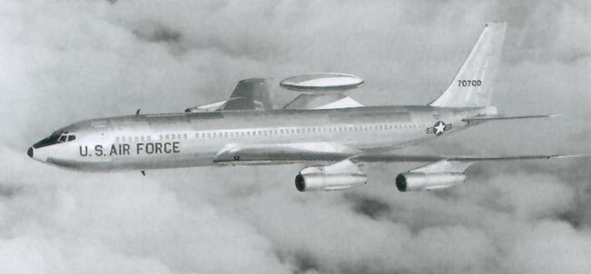 Boeing E-3 AWACS early radar 2