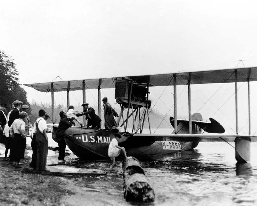 B-1 Civil Flying Boat on Water