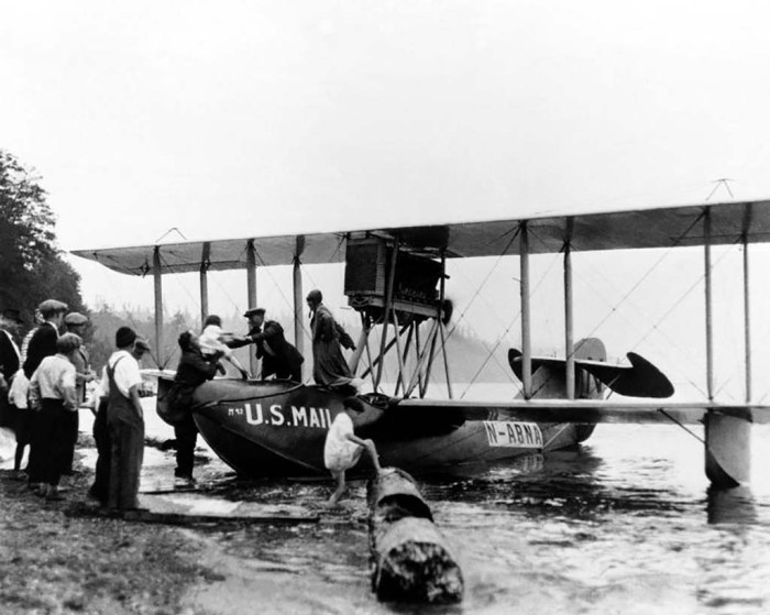 B-1 Civil Flying Boat on Water
