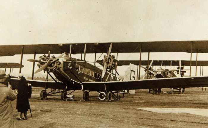 Handley Page W, primeros llevandopasajeros