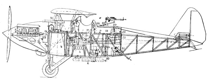 Potez_39_A2_side_drawing_L'Aerophile_January_1931