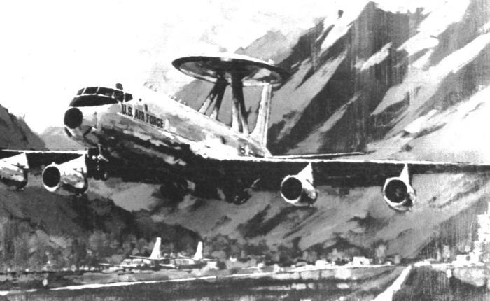 Proyectos de Boeing y Douglas antes del E-3AWACS