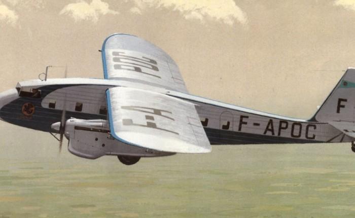 Potez 62, un avión moderno para AirFrance