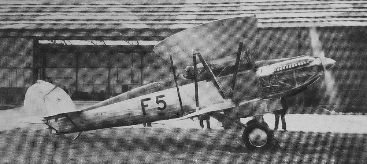 fairey-fox-ii-p12-engine-run