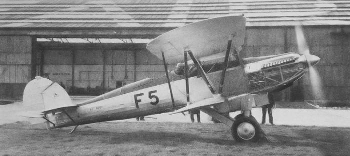 fairey-fox-ii-p12-engine-run
