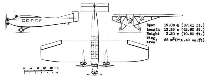 Farman_F.300_3-view_NACA_Aircraft_Circular_No.115
