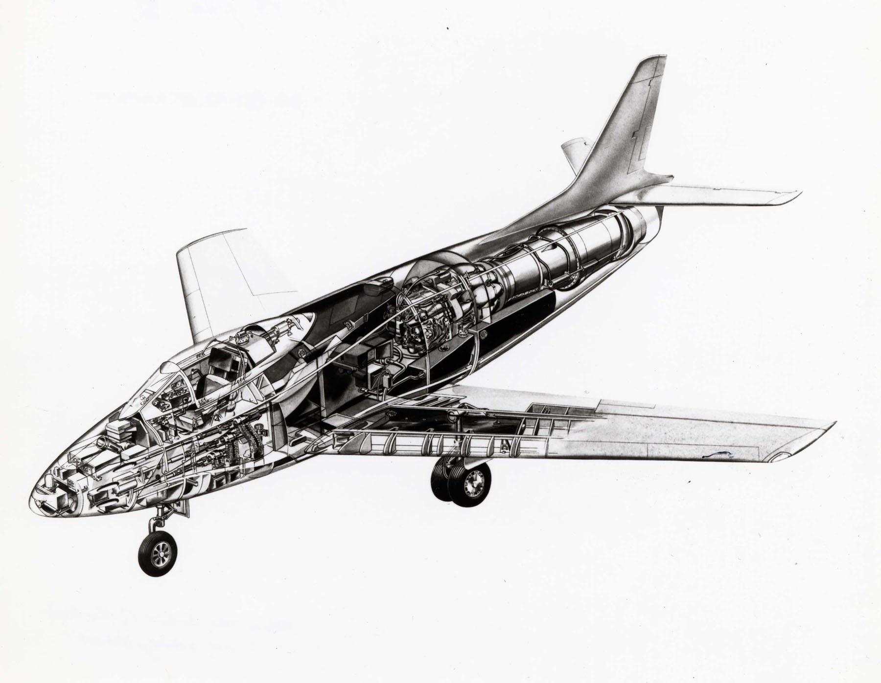 NAA_YF-93A_cutaway