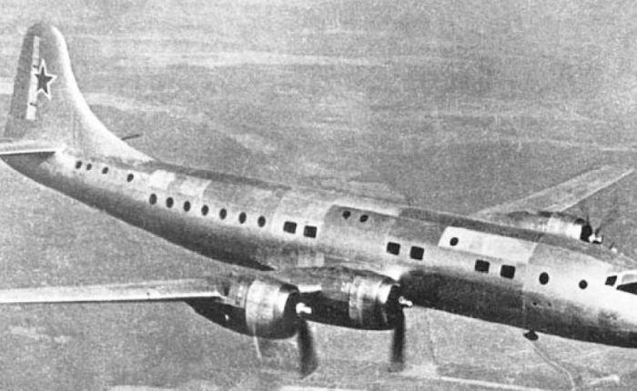 Tupolev Tu-75, primer transporte moderno de lossoviéticos