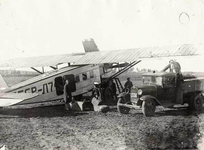5.Dornier-Do.V-Merkur-Aeroflota-na-pogruzke.