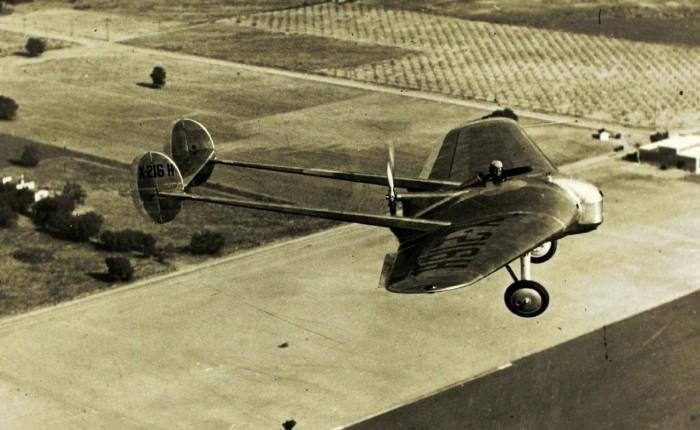 """Se presenta en público el primer """"ala volante"""" deNorthrop"""