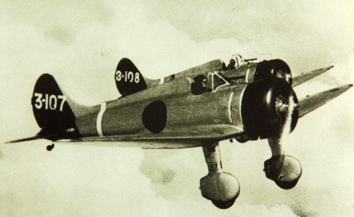 Mitsubishi Claude, primer monoplano de la marinajaponesa