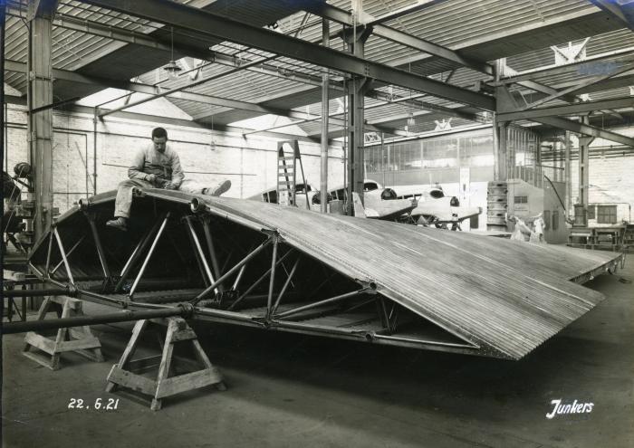 Bau der JG 1
