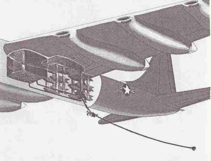 B-36H Tanker drawing