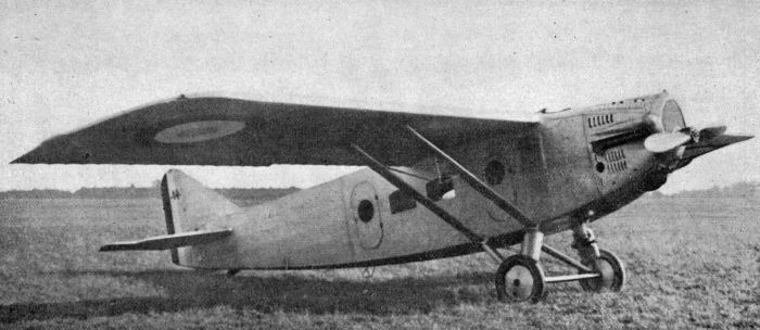 Dewoitine_D.14_L'Aéronautique_January,1926