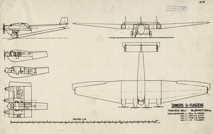 Entwurf der JG 1