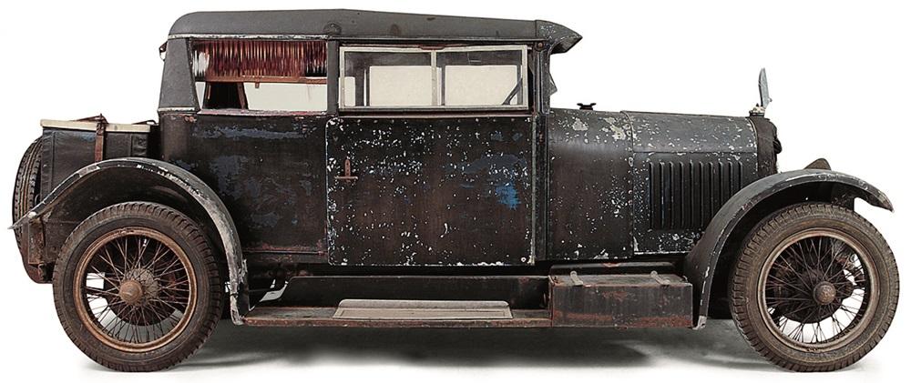 VOISIN - C7 TYPE DEMI-BERLINE TWO-DOOR - 1925