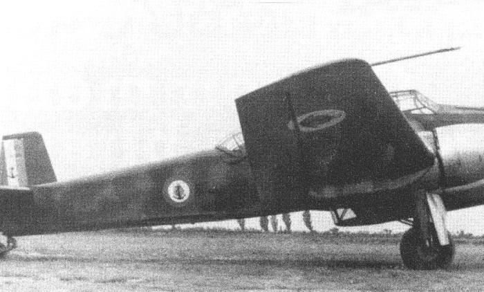 CAO 600, bimotor de bombardeoembarcado