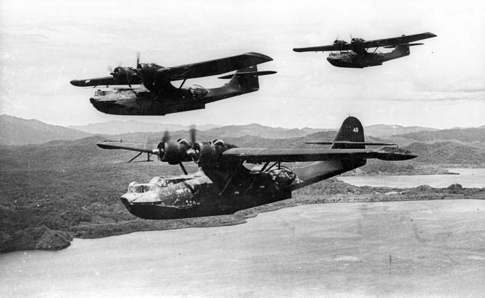 Consolidated Catalina, el anfibio más utilizado en la Segunda GuerraMundial